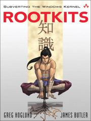 Cover of: Rootkits |