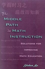 Cover of: The Middle Path in Math Instruction | Shuhua An