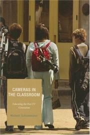 Cover of: Cameras in the Classroom | Michael Schoonmaker