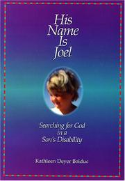 Cover of: His name is Joel