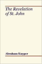 Cover of: The Revelation of St. John