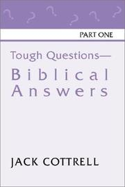 Cover of: Tough Questions - Biblical Answers
