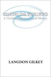 Reaping the Whirlwind by Langdon Brown Gilkey