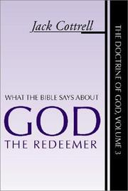 Cover of: What the Bible says about God the redeemer