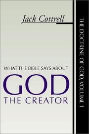 Cover of: What the Bible Says about God the Creator