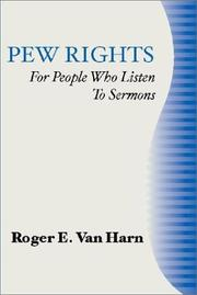 Cover of: Pew Rights | Roger E. Van Harn