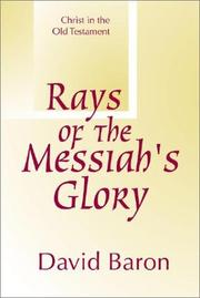 Cover of: Rays of Messiah's glory