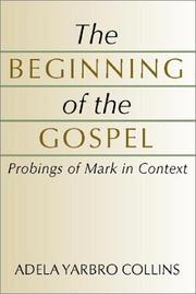 Cover of: The beginning of the Gospel