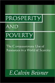 Cover of: Prosperity and poverty