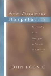 Cover of: New Testament Hospitality