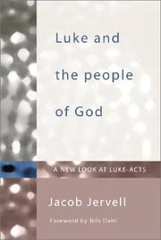 Cover of: Luke and the people of God