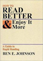 Cover of: How to Read Better and Enjoy It More