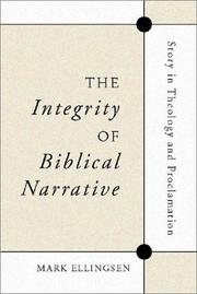 Cover of: The integrity of biblical narrative