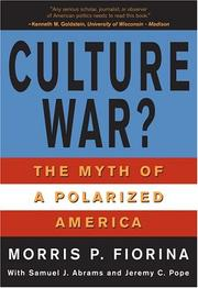 Cover of: Culture War? The Myth of a Polarized America (for Sourcebooks, Inc.)
