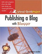 Cover of: Publishing a blog with Blogger