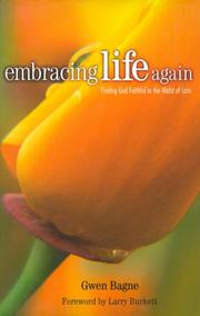 Cover of: Embracing life again