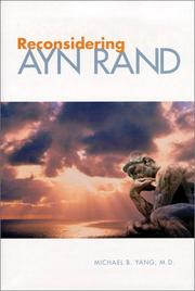 Cover of: Reconsidering Ayn Rand