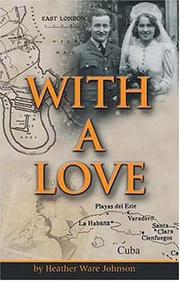 Cover of: With a love