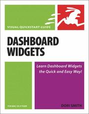 Cover of: Dashboard Widgets for Mac OS X Tiger