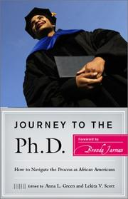 Cover of: Journey to the Ph.D. |