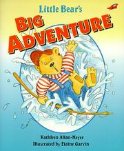 Cover of: Little bear's big adventure