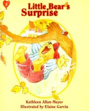 Cover of: Little Bear's surprise