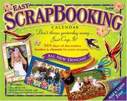 Cover of: Easy Scrapbooking Crop-a-Day