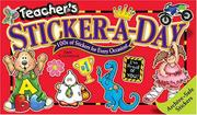 Cover of: Teacher's Sticker-a-Day