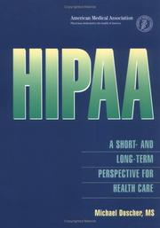 Cover of: HIPAA | Michael Doscher