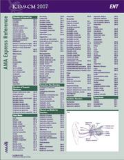 Cover of: ICD-9-CM 2007 Express Reference Coding Card Cardiology | AMA
