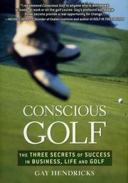 Cover of: Conscious Golf | Gay Hendricks