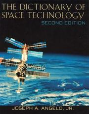 Cover of: The dictionary of space technology