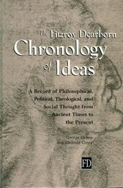 Cover of: Fitzroy Dearborn chronology of ideas