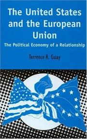 Cover of: United States and the European Union | Terrence R. Guay