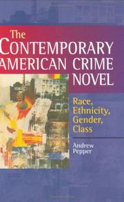 Cover of: The Contemporary American Crime Novel | Andrew Pepper