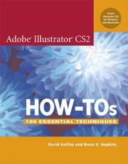 Cover of: Adobe Illustrator CS2 How-Tos | David Karlins