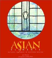 Cover of: Asian Elements | Jane Edwards