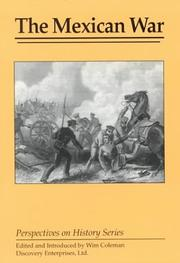 Cover of: The Mexican War | Wim Coleman