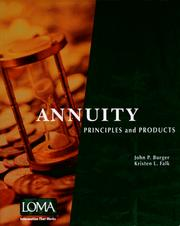Cover of: Annuity