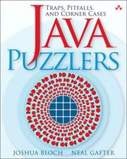 Cover of: Java puzzlers |