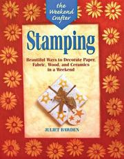 Cover of: The Weekend Crafter: Stamping