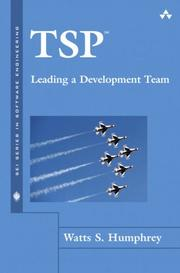 Cover of: TSP(SM)-Leading a Development Team (SEI Series in Software Engineering)
