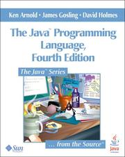 Cover of: The Java Programming Language |