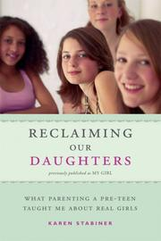 Cover of: Reclaiming Our Daughters