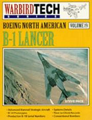 Cover of: Boeing North American B-1 Lancer | Steve Pace