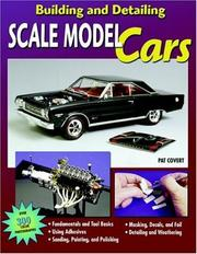 Cover of: Building and Detailing Scale Model Cars