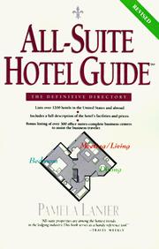 Cover of: All-Suite Hotel Guide | Pamela Lanier