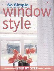 Cover of: So simple window style