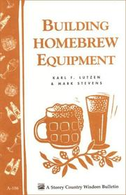 Cover of: Building homebrew equipment