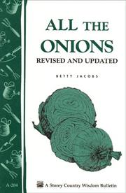 Cover of: All the Onions